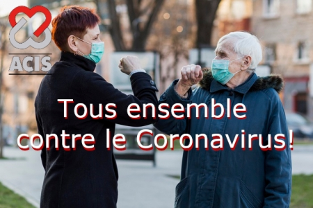 Tous ensemble contre le Coronavirus!